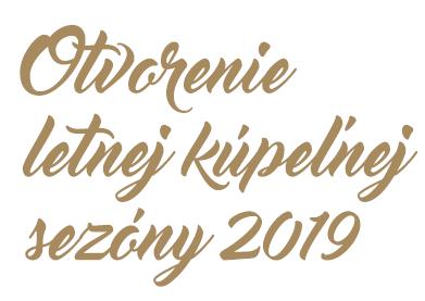 d3aec38e50a6 OTVORENIE LETNEJ KÚPEĽNEJ SEZÓNY sa blíži 2. Najprestížnejším podujatím  roka v Piešťanoch je ...
